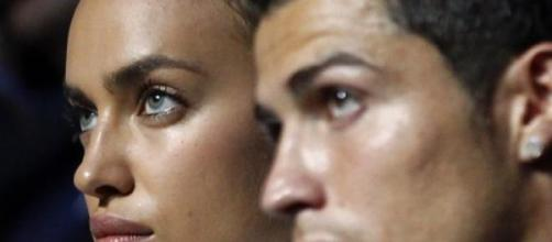 Cristiano Ronado and Irina