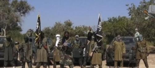 Imagen del ataque en Baga, al noreste de Nigeria