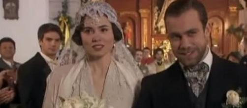 Le nozze di Maria e Fernando.