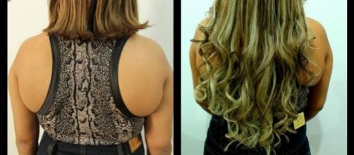 Mega Hair, boa ferramenta para alongar os cabelos.