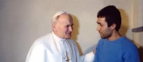 Giovanni Paolo II e Alì Agca