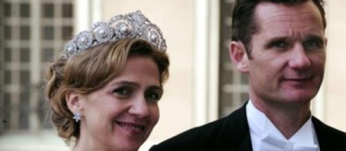 La principessa Cristina di Spagna e marito