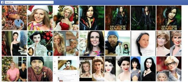 Bambole Kate Middleton, Angelina Jolie e altri VIP