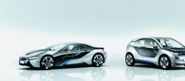Coches eléctricos de BMW.