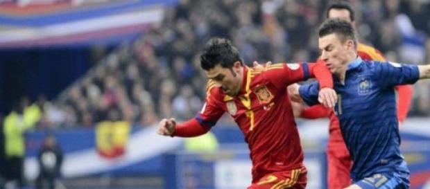 El jugador asturiano David 'El Guaje' Villa
