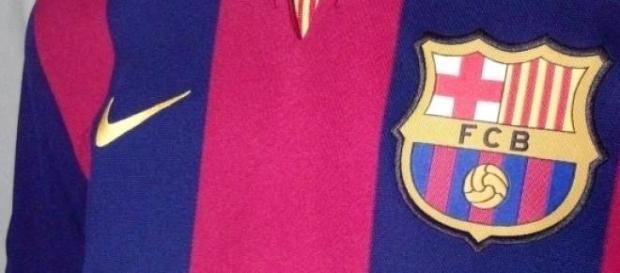 Escudo y camiseta del Barça
