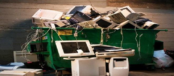 La basura electrónica, en aumento