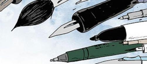 Lápices por Charlie Hebdo