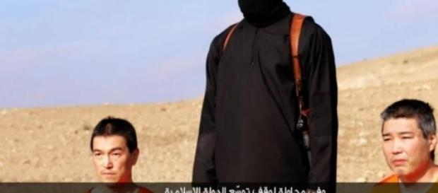 Captura do vídeo divulgado pelo grupo terrorista