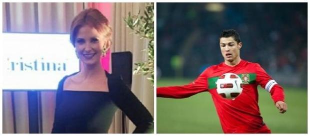 Cristina Ferreira e Cristiano Ronaldo