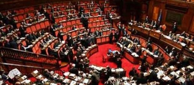 foto illustrativa del parlamento italiano