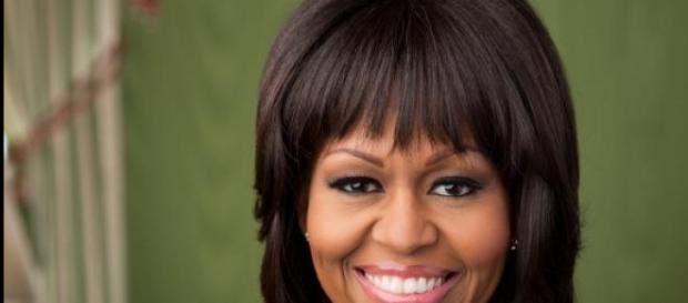 Michelle Obama a invité une jeune Mexicaine.