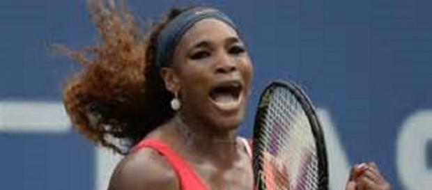Serena is safely through to round two in Melbourne