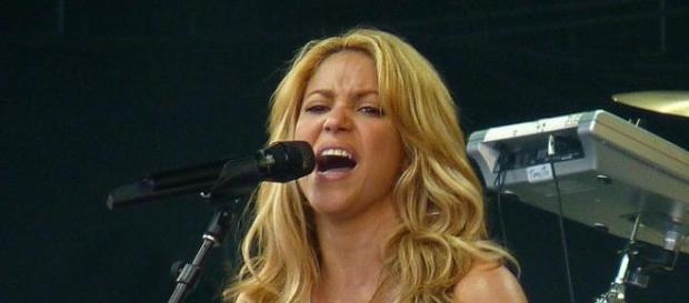 Shakira en un concierto (foto de archivo)