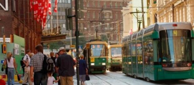 Transport in comun in Helsinki