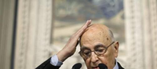 Giorgio Napolitano sai do poder.