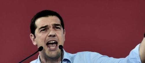 Tsipras,à beira de vencer as eleições