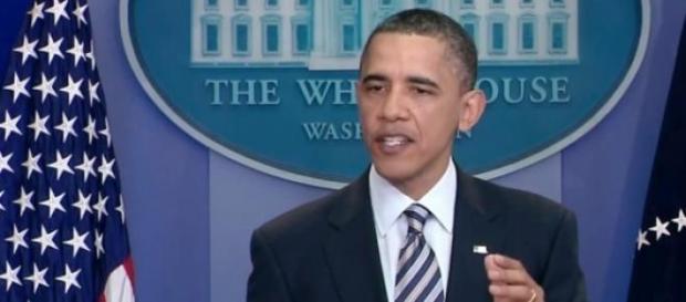 Barack Obama em seu discurso anual