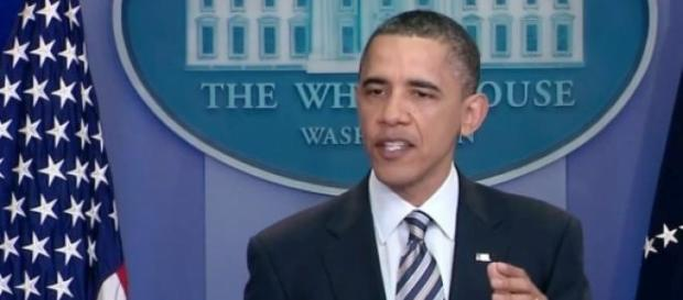 Barack Obama nel discorso sullo stato dell'Unione
