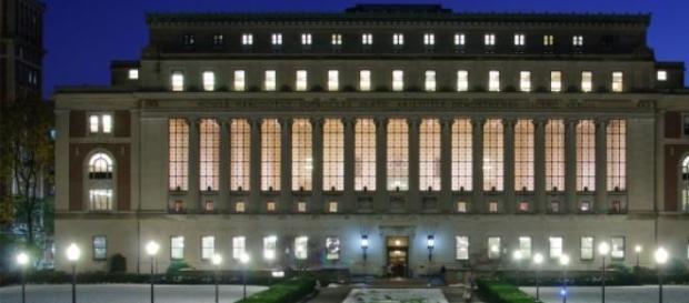 Biblioteca en la Universidad de Columbia