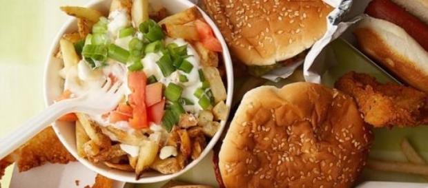 fast-food, sanatate, calorii