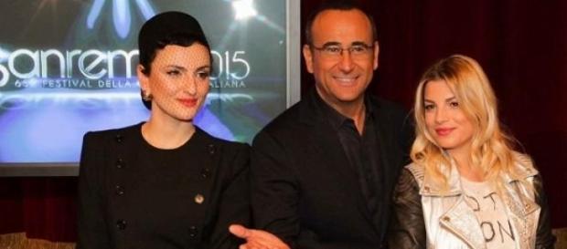 Festival di Sanremo 2015 con Emma Marrone