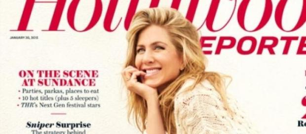 Jennifer Aniston na capa da «Hollywood Reporter»