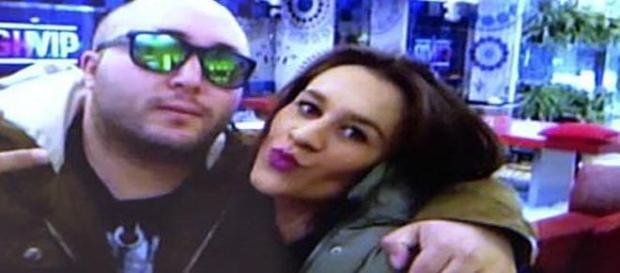 Kiko Rivera y Laura Cuevas juntos para un selfie