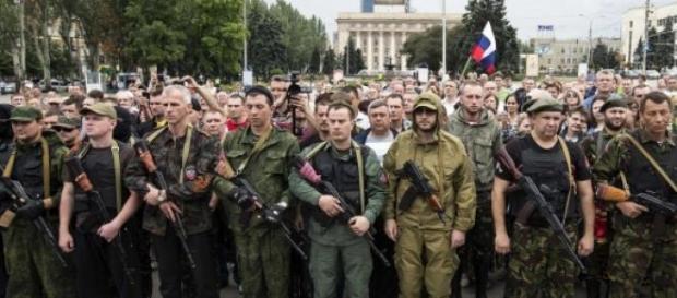 Separatistii prorusi,pregatiti de razboi