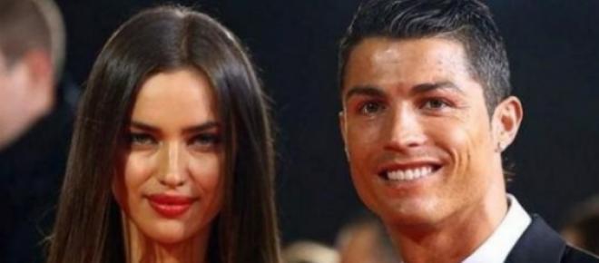 Cristiano Ronaldo e Irina Shayk rompen