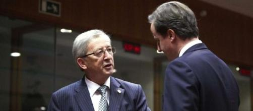 Cameron & Juncker in disagreement