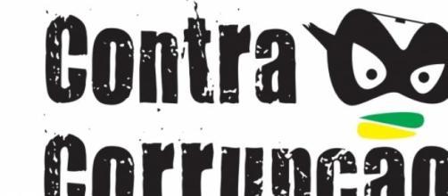 Contra a corrupção - Foto resistência democrática