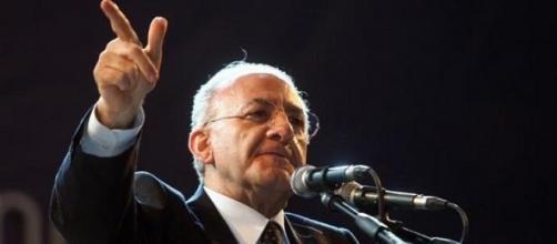 Il sindaco di Salerno, De Luca, condannato