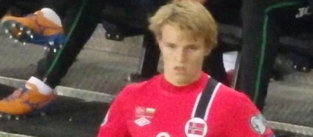 Aos 16 anos, Odegaard já é uma estrela