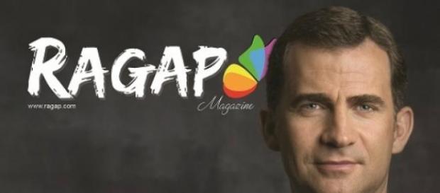 Felipe VI na capa da revista Rapag
