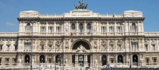 Il palazzo della corte di cassazione