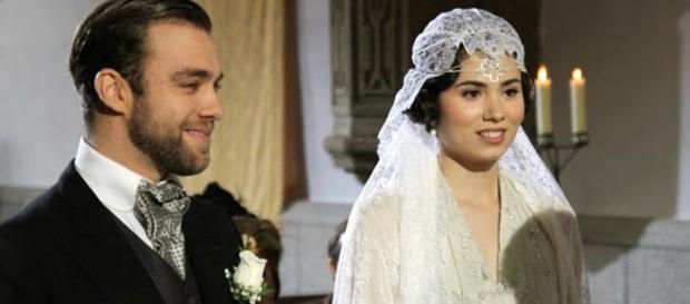 Il Segreto: le nozze tra Maria e Fernando