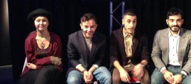 Ilaria, Lorenzo e gli altri finalisti di X-Factor