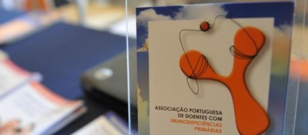 Panfleto da APDIP exposto no encontro bienal 2014.