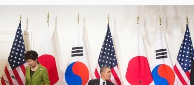 Statele Unite, Japonia si Coreea de Sud