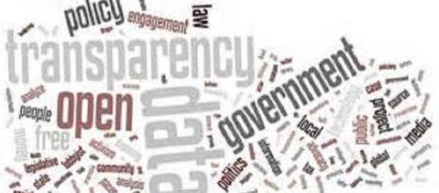 UK government tops transparency list
