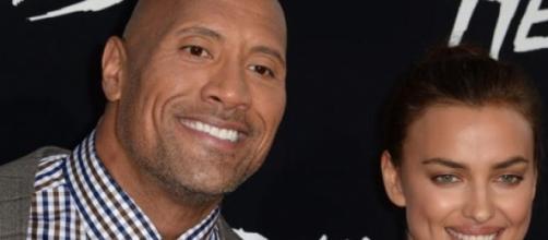 ¿Es 'The Rock' la nueva pareja de Irina Shayk?
