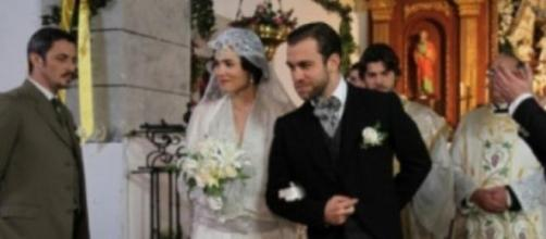 Matrimonio tra Fernando e Maria