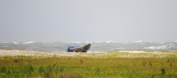 Mar de Fora do vilarejo de Encantadas
