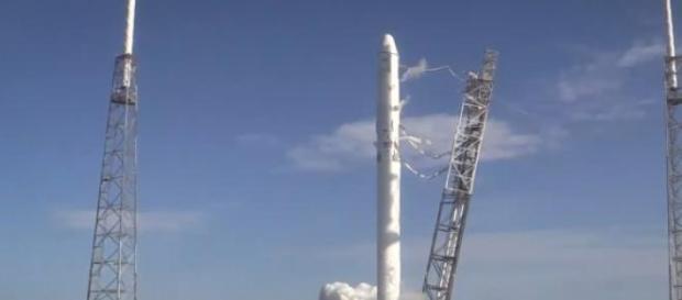 Start jednej z rakiet SpaceX