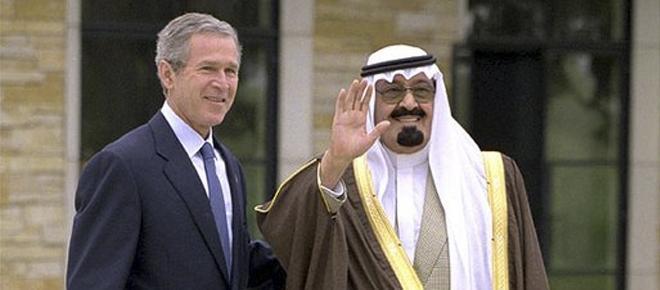 O Rei Abdullah numa das suas visitas oficiais.