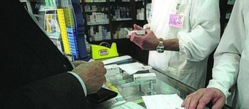 Receitas de medicamentos em papel