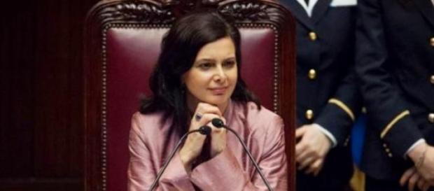 Laura Boldrini, presidente Camera dei Deputati
