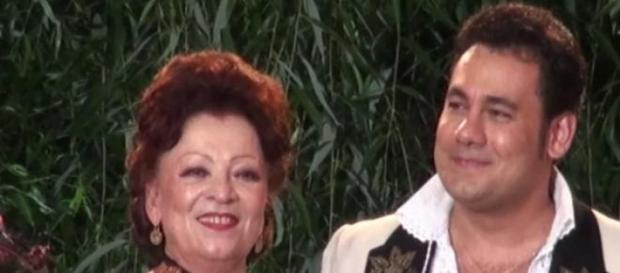 Maria Ciobanu si fiul ei Ionut Dolanescu