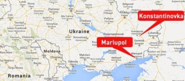 Mariupol - ostrzelane miasto